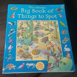 Usborne Big Book of Things to Spot Softcover